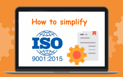 How to simplify your ISO 9001:2015 system at production?