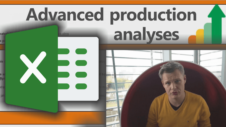 MS EXCEL for production analyses and calculation (ready spreadsheet for advanced calculation of working history)