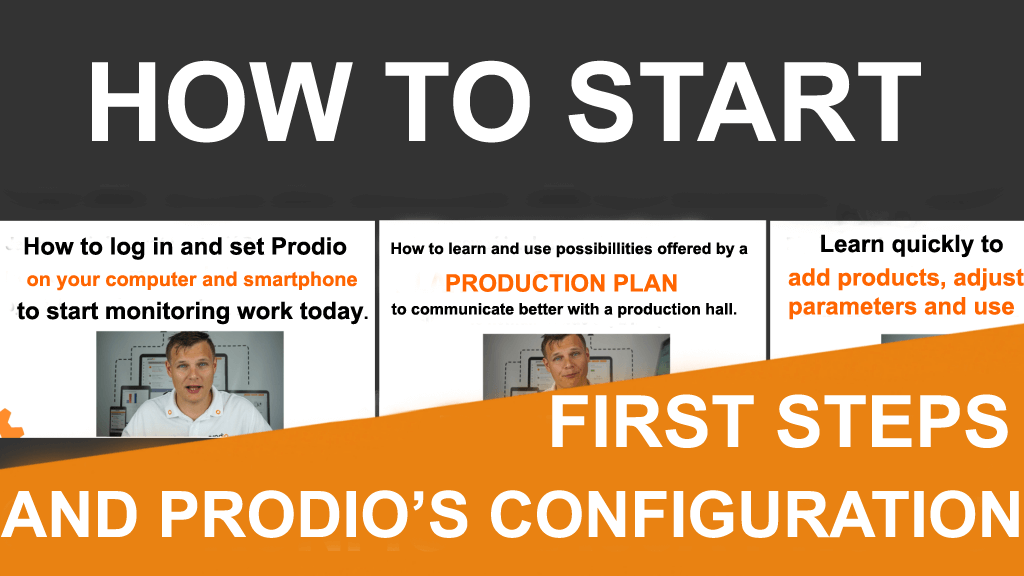 Quick start – Prodio's video tutorials