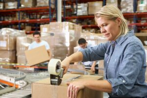 manufacturing control system warehouse